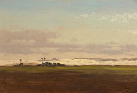 Lockwood de Forest (1850-1932), Nile Valley Landscape, Egypt