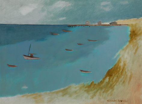 Herman Maril (1908-1986), Provincetown Bay, 1984