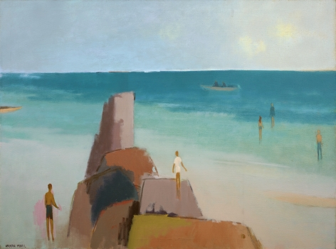 Herman Maril (1908-1986), Kendall Lane Beach, 1983