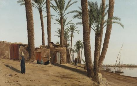 Lockwood de Forest (1850-1932), Bank of the Nile Opposite Cairo, Egypt