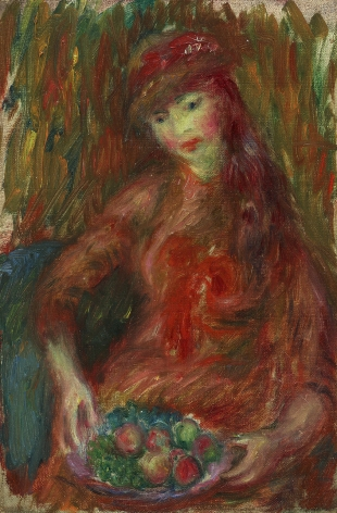 William Glackens (1870-1938), Girl with Fruit