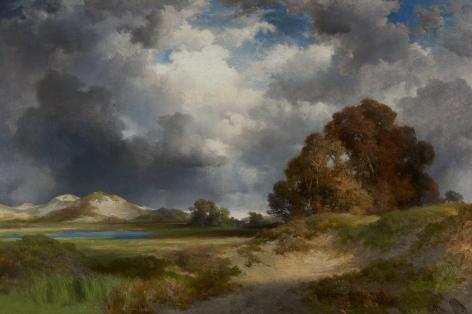 Thomas Moran (1837-1926), East Hampton, 1916