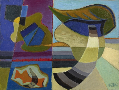 biomorphic and geometric abstraction