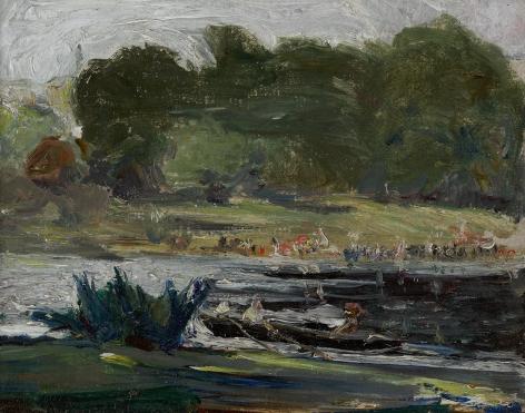 Arthur Beecher Carles (1882-1952), St. James Park, London, circa 1905