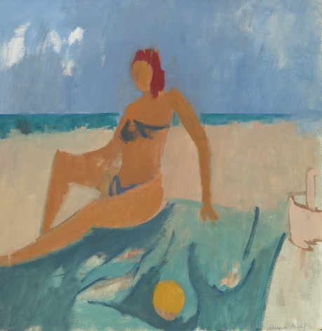 Herman Maril (1908-1986), Bikini Figure, 1961