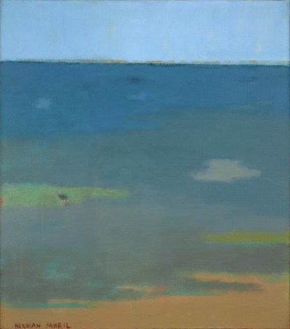 Herman Maril (1908-1986), The Bay, 1976