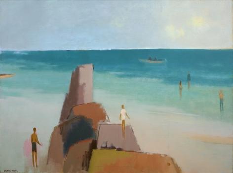 Herman Maril (1908-1986), Kendall Lane Beach, 1983