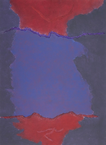 Theodoros Stamos (1922-1997), Infinity Field, Lefkada Series (Red and Purple), 1980