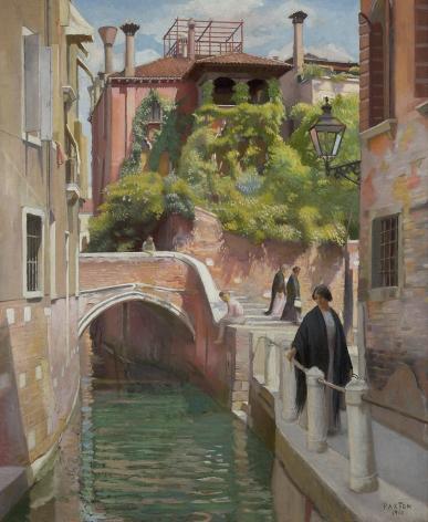William McGregor Paxton (1869-1941), Venice, 1910
