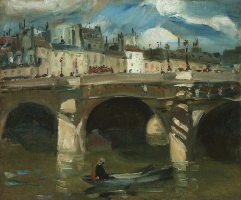 William James Glackens (1870-1938), The Seine, 1895