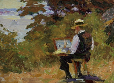 Edward Henry Potthast (1857-1927), The Artist (Self-Portrait), circa 1910