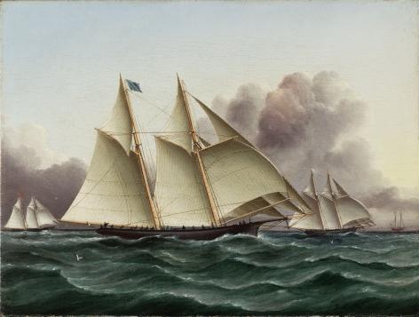 James Edward Buttersworth (1817-1894), The Henrietta