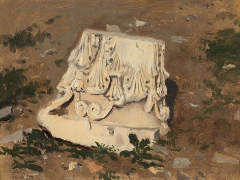 Lockwood de Forest (1850-1932), Column Base I, Greece