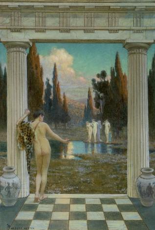 Albert Herter (1871-1950), Judgment of Paris, circa 1909-1910