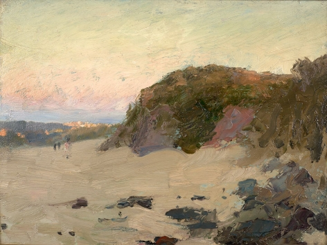 Edward Emerson Simmons (1852-1934), Lelant - St. Ives, 1887