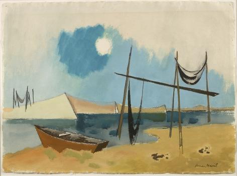 Herman Maril (1908-1986), Truro Weirs, 1960