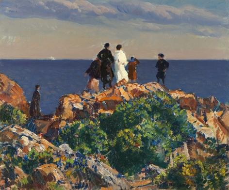 Gifford Beal (1879-1956), Bass Rocks, Gloucester, circa 1923-30