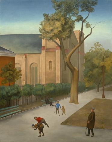 O. Louis Guglielmi (1906-1956), St. George's Church, Stuyvesant Square, circa 1933