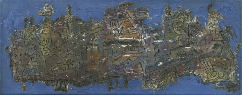 Ynez Johnston (b. 1920), Oceanic Discovery, 1963