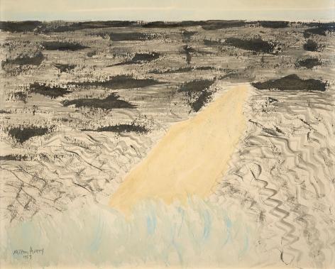 Milton Avery (1885-1965), Sand Spit, 1957