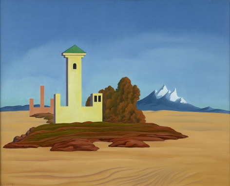 George Copeland Ault (1891-1948), Desert Towers, 1937