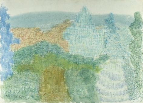 Milton Avery (1885-1965), Trees and Mountains, 1954