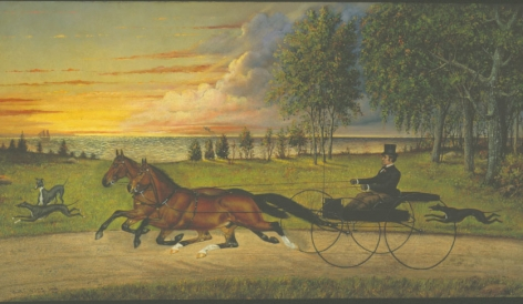 Henry H. Cross (1837-1918), On the Track, 1884
