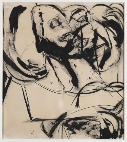 Grace Hartigan (1922-2008), Feline Image, circa 1952