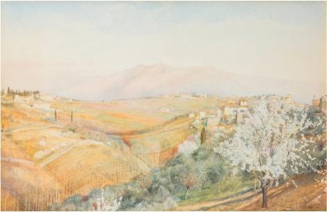 Henry Roderick Newman (1843-1917), Tuscany, 1886
