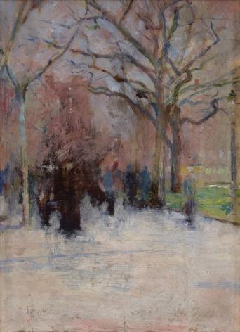 Theodore Robinson (1852-1896), Union Square, circa 1893-1895