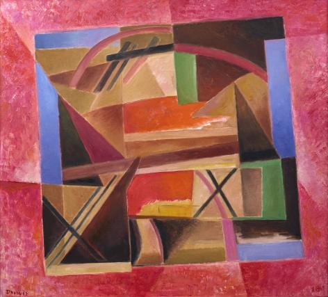 Werner Drewes (1899-1985), Inner Turmoil, 1984-85