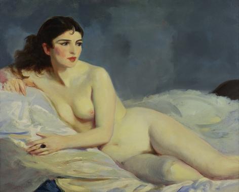 Robert Henri (1865–1929), Betalo Nude, 1916