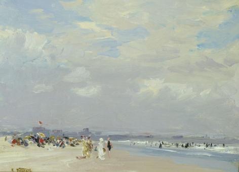 Edward Henry Potthast (1857-1927), Rockaway Beach, circa 1910