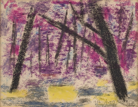 Milton Avery (1885-1965), Evening Forest, 1956