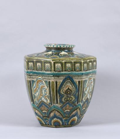 Edward Middleton Manigault (1887-1922), Octagon Vase, 1918