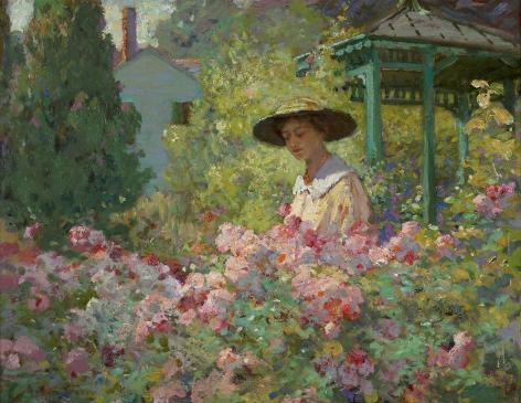 Abbott Fuller Graves (1859-1936), In the Garden