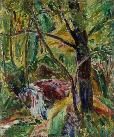 Alfred Henry Maurer (1868-1932), Landscape, circa 1915-1920