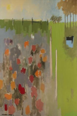 Herman Maril (1908-1986), Nadja's Garden, 1969
