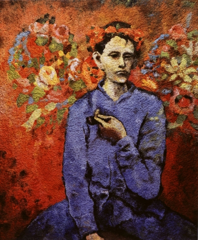 vik muniz Boy with Pipe After Picasso 2006
