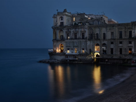 Out My Window, Palazzo Donn'Anna, Naples, April, 2018