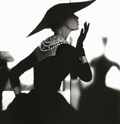 Lillian Bassman, Blowing Kiss, Barbara Mullen, New York, Harper's Bazaar, c. 1958