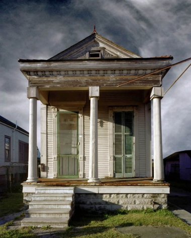 Michael Eastman Shotgun House, New Orleans