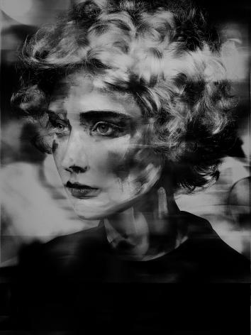 Valérie Belin, Lady Round Brush, 2017