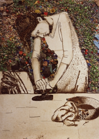 Vik Muniz, Isis (Woman Ironing), 2008-2011
