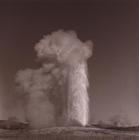 Lynn Davis, [Landscapes #03] Old Faithful, Yellowstone National Park, 1990