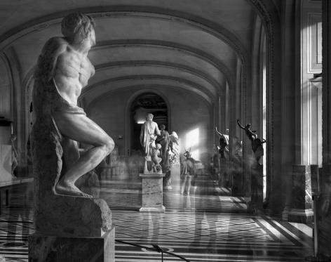 L'esclave Rebelle, Musée du Louvre, 2010