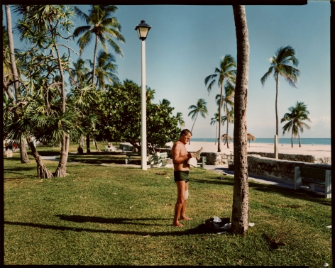 Stephen Shore, Miami Beach, Florida, November 13, 1977, 1977