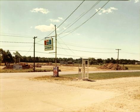 Stephen Shore, U.S. 1, Arundel, Maine, July 17, 1974, 1974