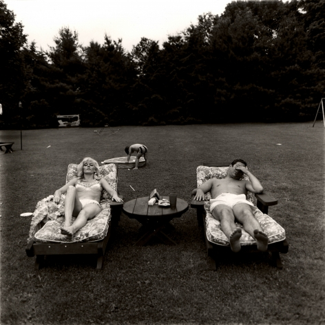 Diane Arbus, A Family on their lawn one sunday in Westchester, NY, 1968