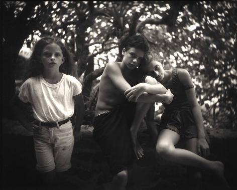 Emmett, Jessie and Virginia, 1994
